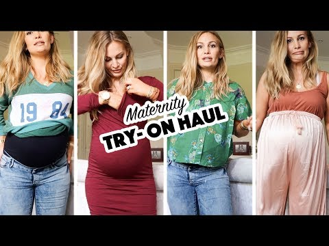 Maternity Fashion Try-On Haul | ASOS