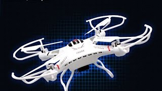 DFD F183 Drone 6 Axis 2.4G 4CH RC Quadcopter Helicopter with Camera LCD Display