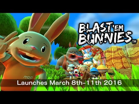 Blast 'Em Bunnies PS4 and Xbox One Launch Trailer thumbnail