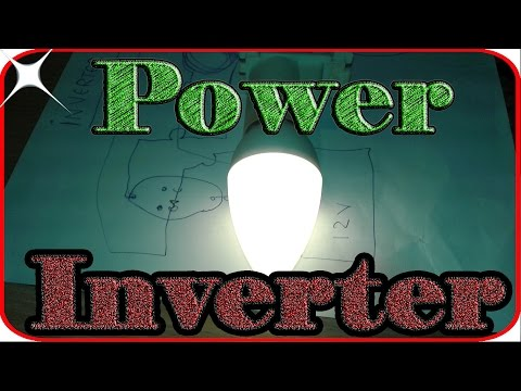 How to make power inverter 12v to 220v at home Very easy circuit diagram