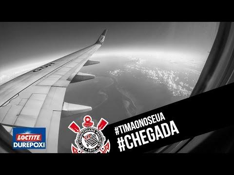 #TimãonosEUA | Chegada