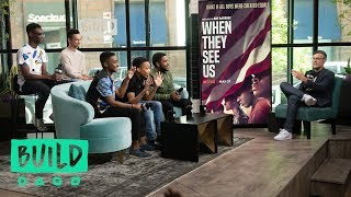 Jharrel Jerome, Ethan Herisse, Caleel Harris, Marquis Rodriguez & Asante Blackk Speak On Netflix's ""