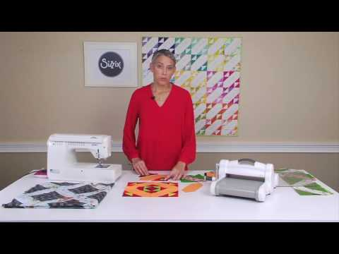 From the Sizzix Quilting Workshop: The Signature Block with Victoria Findlay Wolfe
