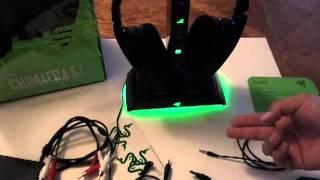 Razer Chimaera 5.1 review setup wireless