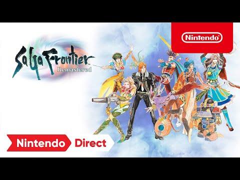 Nintendo Direct 2.17.21 – Nintendo Switch de SaGa Frontier Remastered