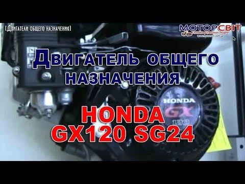 Двигатель общего назначения Honda GX120 SG24. 4-х тактный двигатель Хонда
