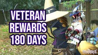 FFXIV 2.1 0128 Veteran Rewards (180 Days)