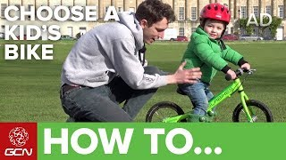 What is right size bike for my child