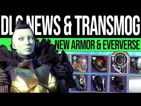 Destiny 2 | ARMOR TRANSMOG & HUGE REWORKS! Eververse Update, Currency Changes & Year 3 Ornaments!