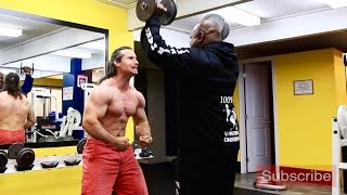 7 Weeks Out of the 2016 BC Bodybuilding Championships, Ivan Czach Works Out with Adwin Gounder
