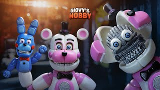 "FUNTIME FREDDY ""TUTORIAL"" ↩ FNAF SISTER LOCATION ★ Porcelana fria / Air dry clay ✔ Giovy Hobby"