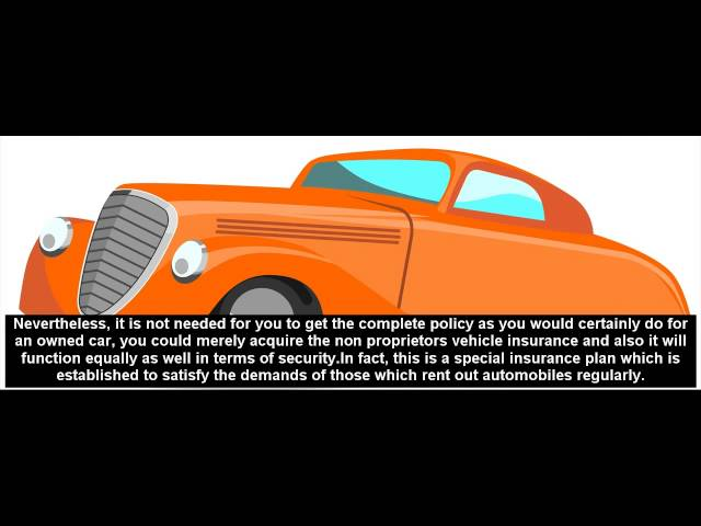Non Owners Car Insurance Free Car Insurance Quotes From Top Insurance Companies