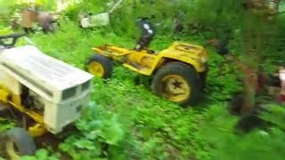 Massive  mower graveyard