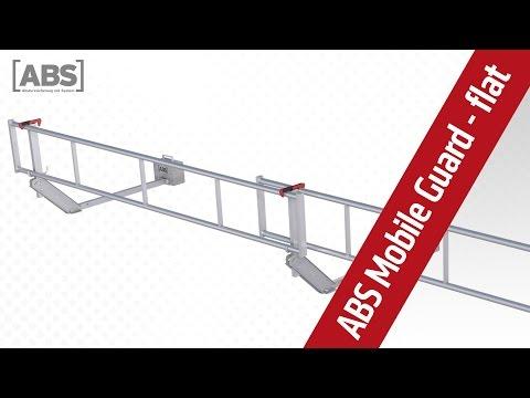 Kompakte Video-Präsentation zum Schutzgeländer ABS Mobile Guard - flat