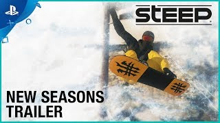 Steep - New Seasons Trailer | PS4