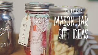 Craft Corner: How To Make A Mason Jar Gifts