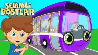 Otobüsün Tekerleği Ve Sevimli Dostlar Ile 45 Dakika Çocuk Şarkıları | Kids Songs And Nursery Rhymes