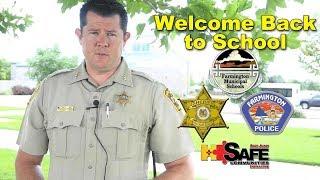 Welcome Back to School; Undersheriff Shane Ferarri