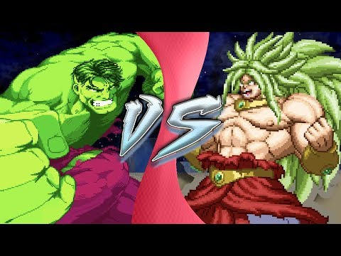 HULK vs BROLY | (Avengers vs Dragon Ball Z) Remastered Animation
