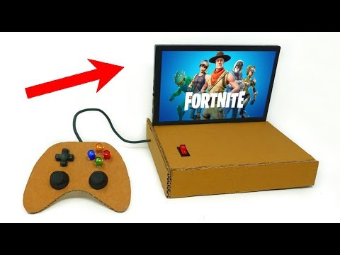 How To Make A HOMEMADE CONSOLE To Play FORTNITE! Mp3