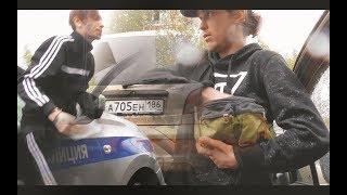 Два упоротых утренних наркомана на ДЭУ задержаны ИДПС
