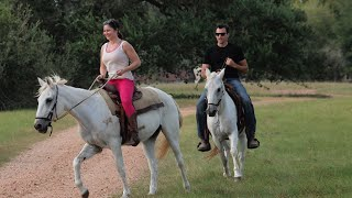 Horseback Riding At BlissWood Ranch In Texas!