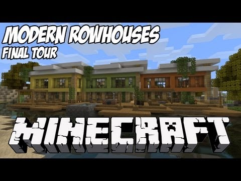 Modern Rowhouses Lets Build Beach Town Project Minecraft Project