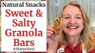 Homemade Granola Bars - Easy One Bowl Recipe