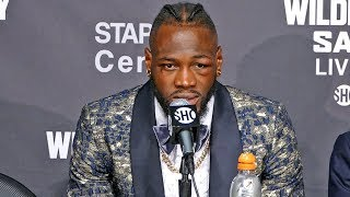 Deontay Wilder POST FIGHT PRESS CONFERENCE vs. Tyson Fury
