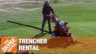 Trencher Rental | The Home Depot Rental