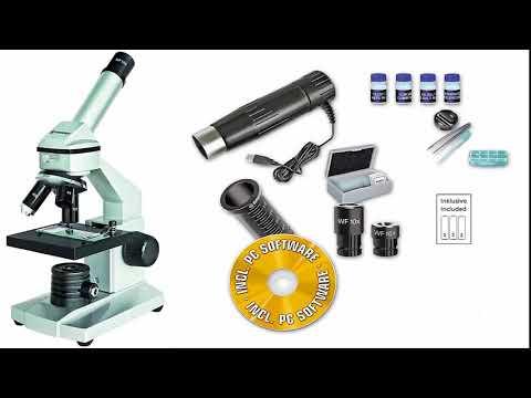 Bresser junior Mikroskop Set Biolux DE 40x 1024x USB Mikroskop Test 2017