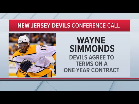 Wayne Simmonds Explains Why He Signed With the Devils | NHL