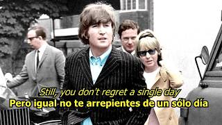 Girl - The Beatles (LYRICS/LETRA) [Original]