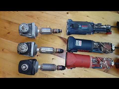Bosch GWS 13 125 CIE Bosch GWS 14 125 CIE  Hilti   DCG 125 S