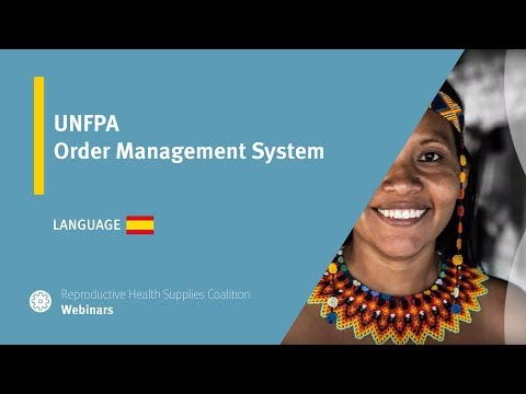 UNFPA Order Management System