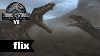Jurassic World: Blue VR - Chapter Two - T-Rex Fight
