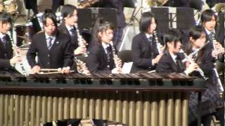 チャールダーシュマリンバ・ソロと吹奏楽:柏市立柏高校吹奏楽部2010
