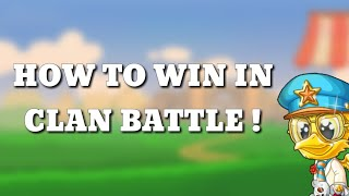 FUN RUN 3 : HOW TO WIN IN CLAN BATTLE
