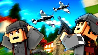 AIR ASSISTANCE! - Minecraft WW2 - S3E17 (Heroes & Generals)