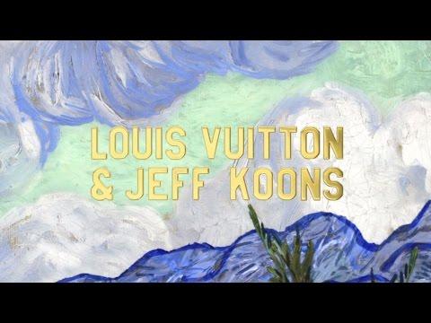 حقائب Louis Vuitton الجديدة بالتعاون مع Jeff Koons