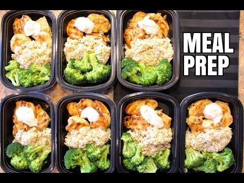 Video How To Meal Prep - Ep. 1 - CHICKEN (7 Meals/$3.50 Each)