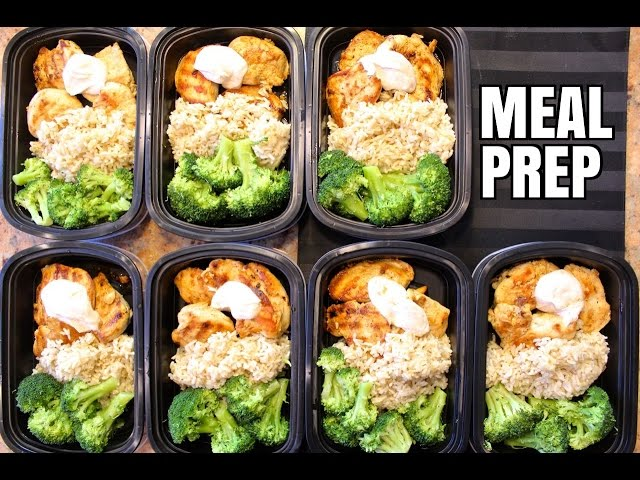 How To Meal Prep – Ep. 1 – CHICKEN (7 Meals/$3.50 Each)