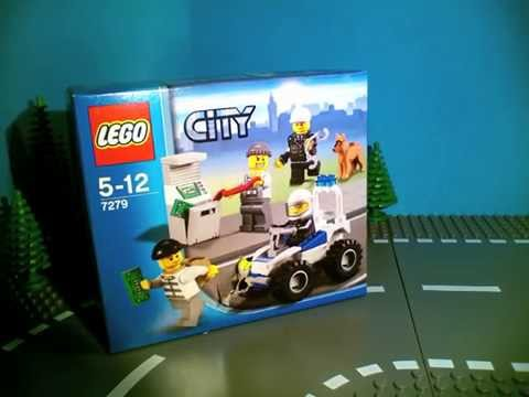 Vidéo LEGO City 7279 : Collection de figurines City Police