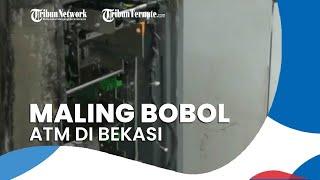 ATM di Minimarket Dibobol Komplotan Maling Menggunakan Las Listrik, Rp300 Juta Raib dari 2 Mesin