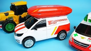 TOBOT transformers car toys CarBot Ambulance Cargo and Teracle