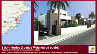 preview picture of video '3 dormitorios 2 baños Vivienda de pueblo se Vende en Villamartin, Orihuela Costa, Alicante, Spain'