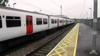 preview picture of video 'Abellio Greater Anglia Trains at Waltham Cross 11 July 2014'