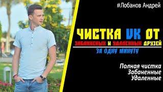 БЕСПЛАТНАЯ и БЫСТРАЯ программа для чистки друзей Вконтакте