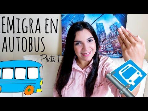 Recomendaciones si piensas emigrar en autobús