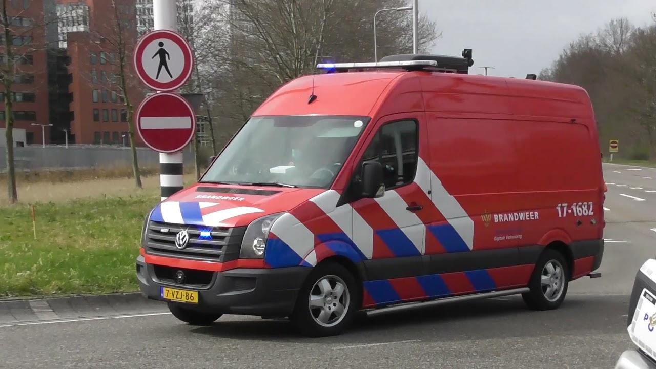 Grip 2! Droneteam 17-1682 met spoed naar een zeer grote brand in Capelle A/D IJssel